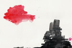 """""""Cloud and City"""" by Lydia Komatsu"""