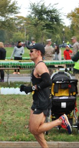Marine Corps Marathon 2013: On my way to a PR of 2:44. Feels like forever ago.